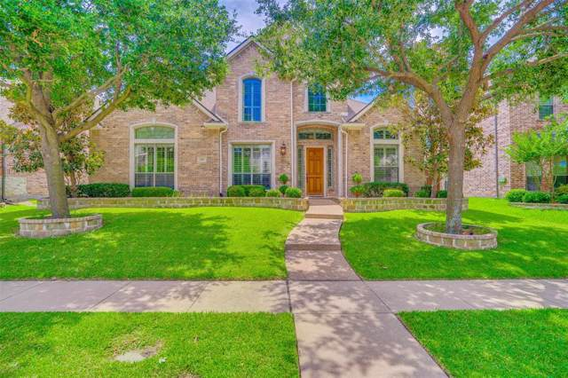 1017 Arches Park Drive, Allen, TX 75013 (MLS #14251612) :: The Kimberly Davis Group