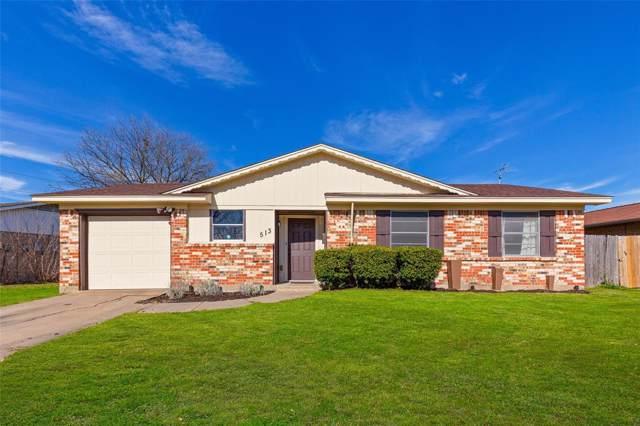 513 Mcdivitt Drive, Garland, TX 75040 (MLS #14251694) :: Robbins Real Estate Group