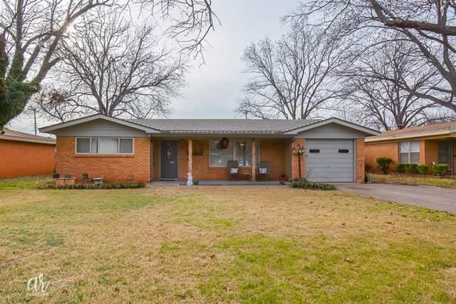 3673 Yale Avenue, Abilene, TX 79603 (MLS #14251743) :: Team Hodnett
