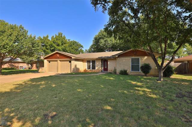 1126 Piedmont Drive, Abilene, TX 79601 (MLS #14251793) :: The Real Estate Station