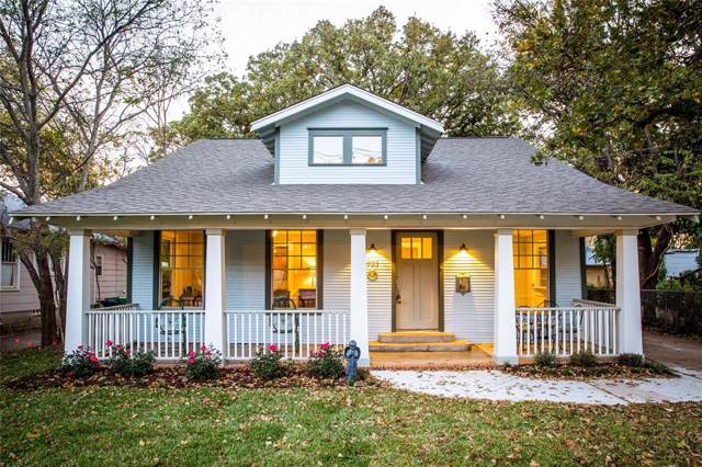 923 W Oak Street, Denton, TX 76201 (MLS #14251884) :: The Mauelshagen Group
