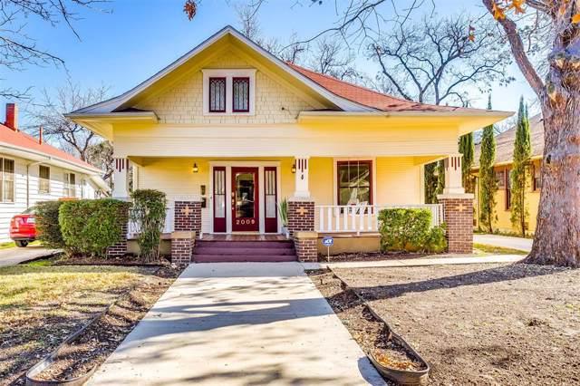 2009 Fairmount Avenue, Fort Worth, TX 76110 (MLS #14251937) :: Tenesha Lusk Realty Group