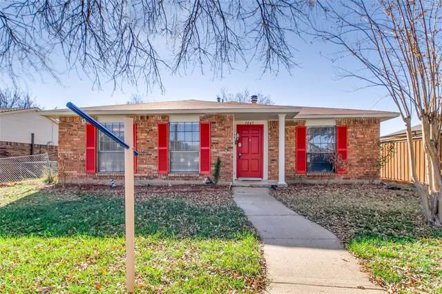 5045 Walker Drive, The Colony, TX 75056 (MLS #14251985) :: Vibrant Real Estate