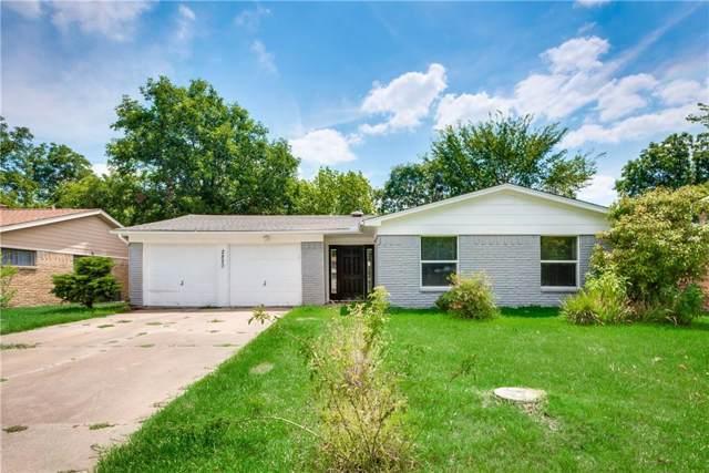 2820 Fairbrook Street, Irving, TX 75062 (MLS #14252073) :: EXIT Realty Elite