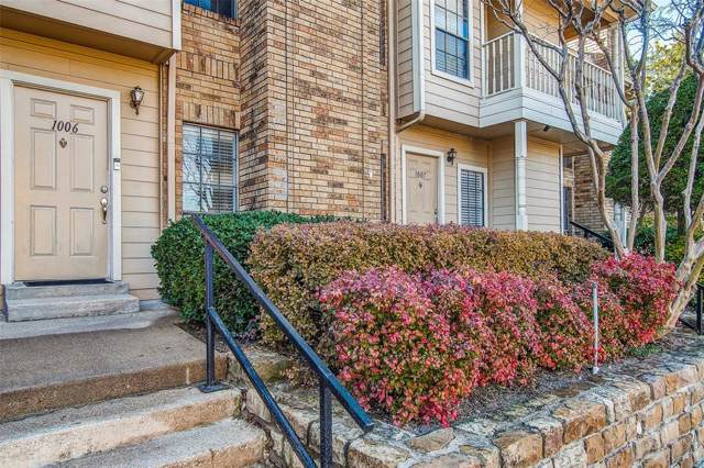 14333 Preston Road #1006, Dallas, TX 75254 (MLS #14252084) :: RE/MAX Landmark
