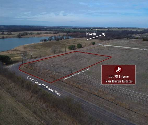 Lot 78 W Cottage Hill Parkway, Weston, TX 75009 (MLS #14252299) :: The Chad Smith Team