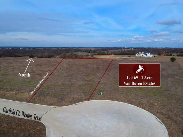 Lot 69 Garfield Court, Weston, TX 75097 (MLS #14252387) :: The Chad Smith Team