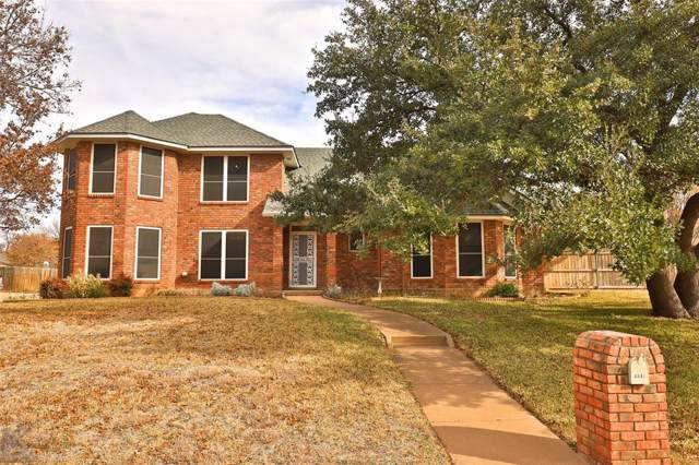 4841 Catclaw Drive, Abilene, TX 79606 (MLS #14252933) :: The Mitchell Group