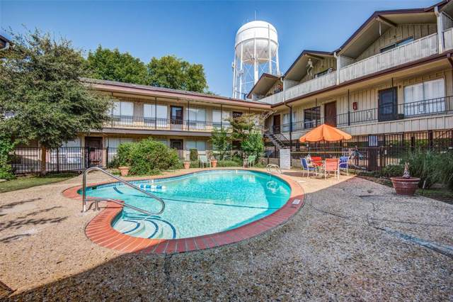 5001 Bowser Avenue #116, Dallas, TX 75209 (MLS #14253003) :: The Hornburg Real Estate Group