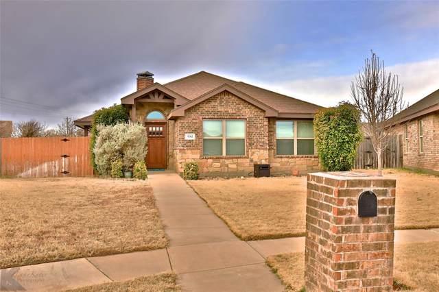 3742 Kallies Cove, Abilene, TX 79606 (MLS #14253005) :: Team Hodnett