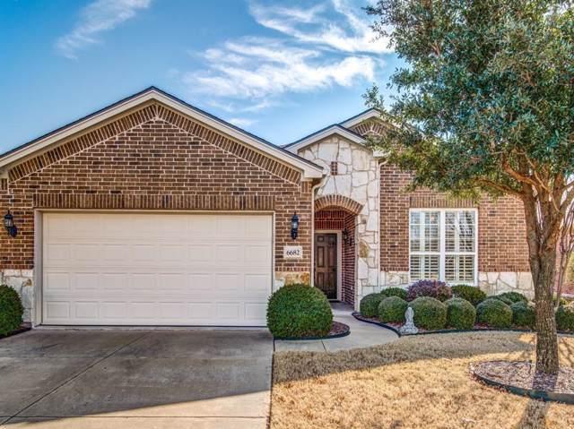 6682 Dewees Lane, Frisco, TX 75036 (MLS #14253012) :: Potts Realty Group