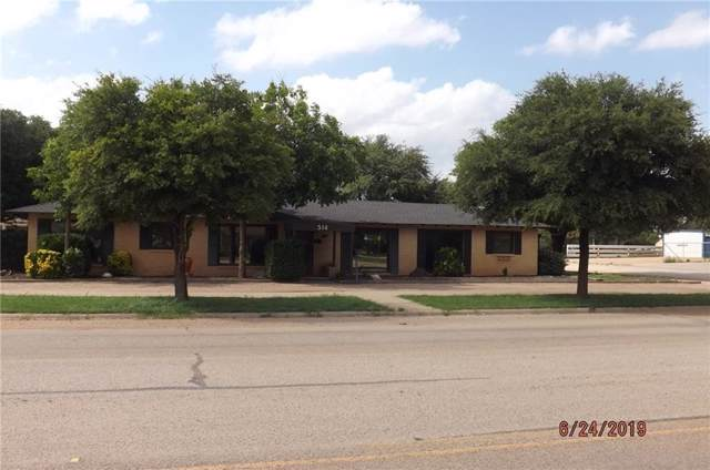 514 W Lake Drive, Hamlin, TX 79520 (MLS #14253096) :: The Good Home Team