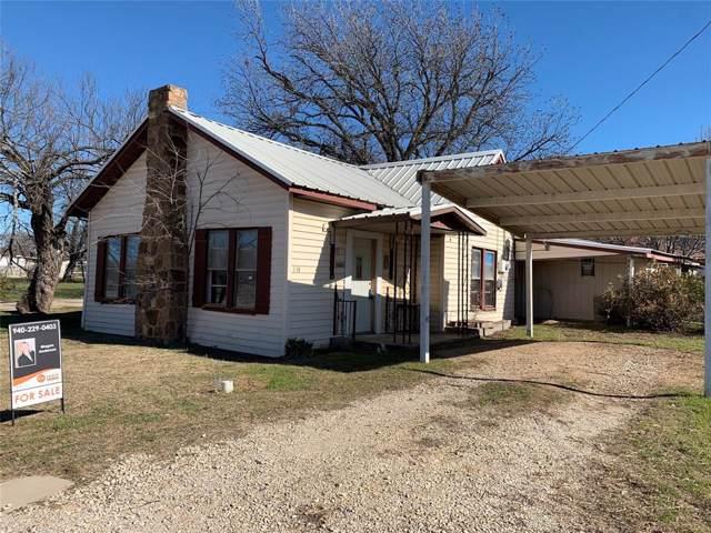 334 N Knox Street, Jacksboro, TX 76458 (MLS #14253206) :: The Hornburg Real Estate Group