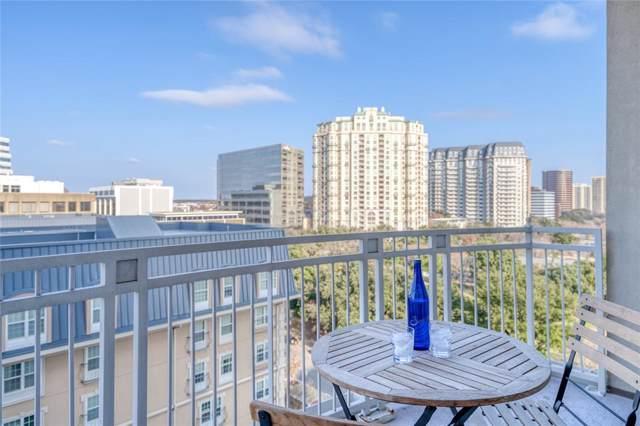 3225 Turtle Creek Boulevard #946, Dallas, TX 75219 (MLS #14253546) :: The Hornburg Real Estate Group