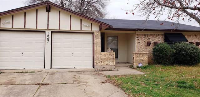 1007 Shana Court, Arlington, TX 76014 (MLS #14253558) :: EXIT Realty Elite