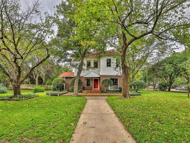 804 Prairie Avenue, Cleburne, TX 76033 (MLS #14253761) :: RE/MAX Town & Country