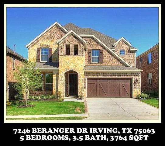 7246 Beranger Drive, Irving, TX 75063 (MLS #14253874) :: All Cities Realty