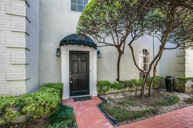 4315 Cole Avenue #108, Dallas, TX 75205 (MLS #14253902) :: The Hornburg Real Estate Group