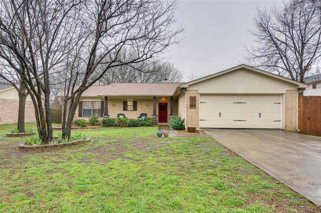 1321 Auburn Drive, Denton, TX 76201 (MLS #14254156) :: The Mauelshagen Group