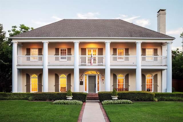 3801 Villanova Street, University Park, TX 75225 (MLS #14254298) :: Ann Carr Real Estate