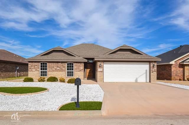 1226 Briar Cliff Path, Abilene, TX 79602 (MLS #14254363) :: The Chad Smith Team