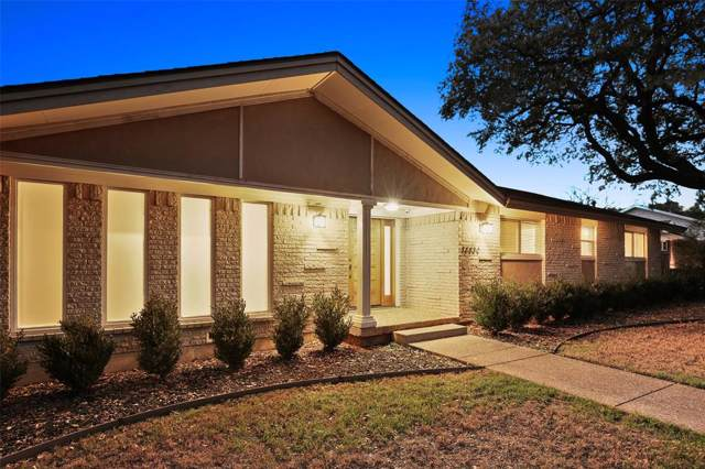 14430 Edgecrest Drive, Dallas, TX 75254 (MLS #14254371) :: Trinity Premier Properties