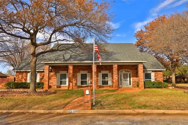 5550 Piping Rock Drive, Abilene, TX 79606 (MLS #14254523) :: Tenesha Lusk Realty Group