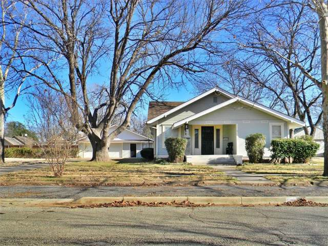 811 Kentucky Street, Graham, TX 76450 (MLS #14254602) :: Trinity Premier Properties