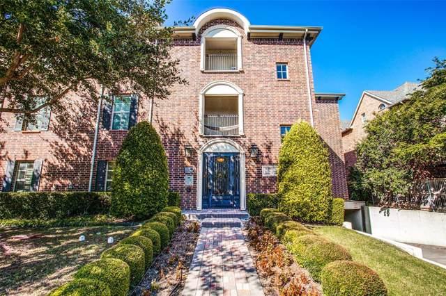 3116 Rosedale Avenue #303, University Park, TX 75205 (MLS #14254603) :: Robbins Real Estate Group