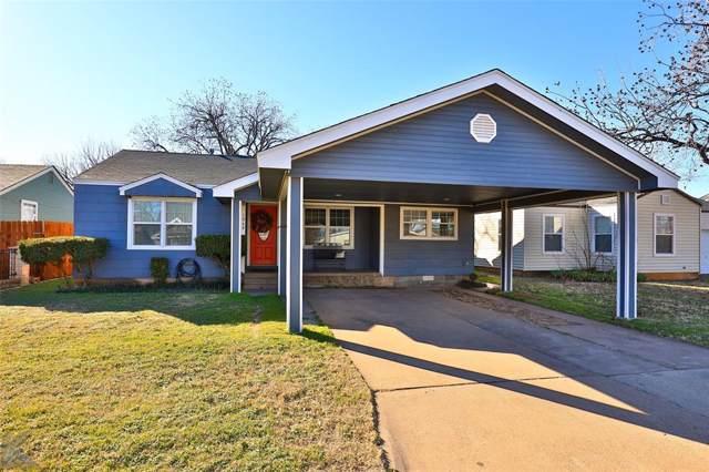 1949 Vogel Street, Abilene, TX 79603 (MLS #14254759) :: RE/MAX Pinnacle Group REALTORS
