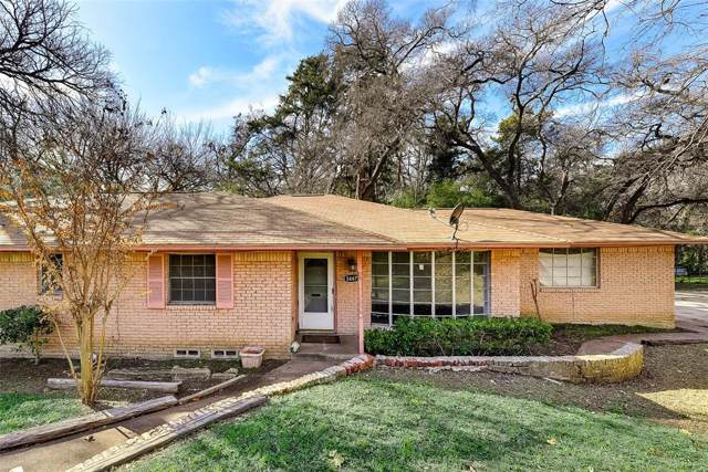 3467 Navajo Circle, Dallas, TX 75224 (MLS #14254794) :: Ann Carr Real Estate