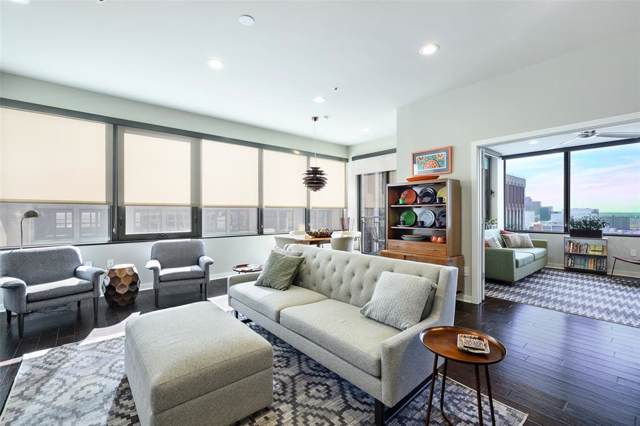 1200 Main Street #1501, Dallas, TX 75202 (MLS #14254801) :: The Hornburg Real Estate Group