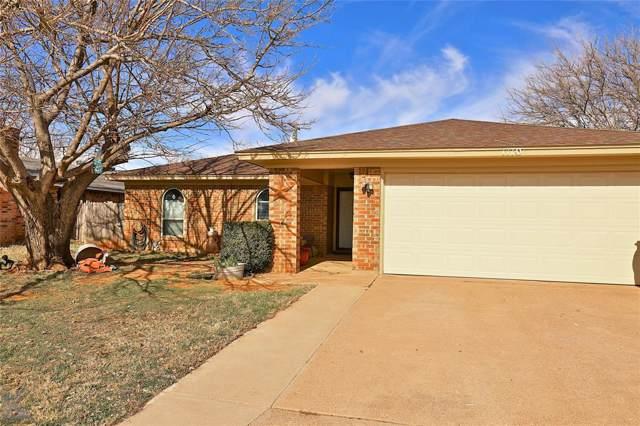 1110 Baylor Street, Abilene, TX 79602 (MLS #14254899) :: The Chad Smith Team