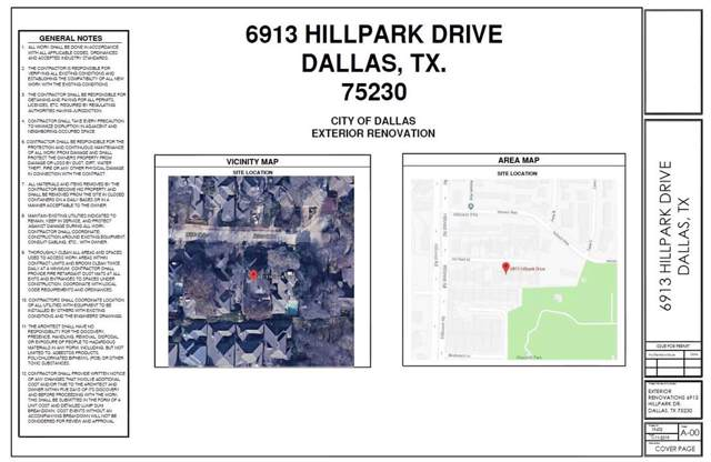 6913 Hillpark Drive, Dallas, TX 75230 (MLS #14254924) :: The Kimberly Davis Group