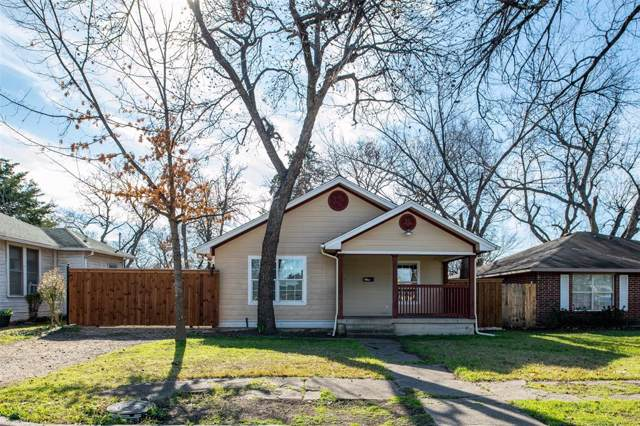 230 W Ohio Avenue, Dallas, TX 75224 (MLS #14255012) :: Baldree Home Team