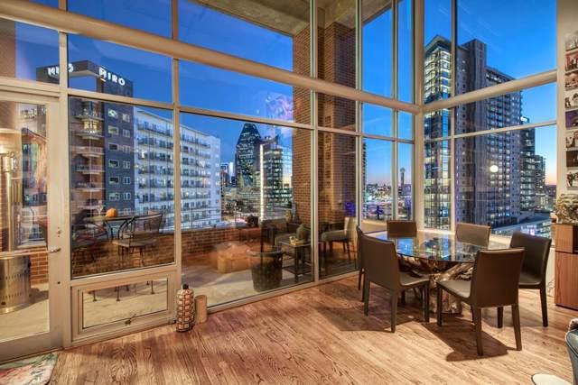 2011 Cedar Springs Road #603, Dallas, TX 75201 (MLS #14255109) :: The Hornburg Real Estate Group