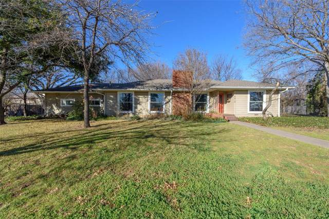 2316 Houston Place, Denton, TX 76201 (MLS #14255153) :: The Mauelshagen Group