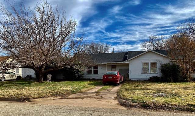 2781 Beech Street, Abilene, TX 79601 (MLS #14255209) :: RE/MAX Pinnacle Group REALTORS