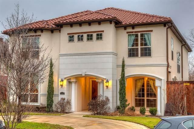 3308 Rosedale Avenue, University Park, TX 75205 (MLS #14255368) :: The Chad Smith Team