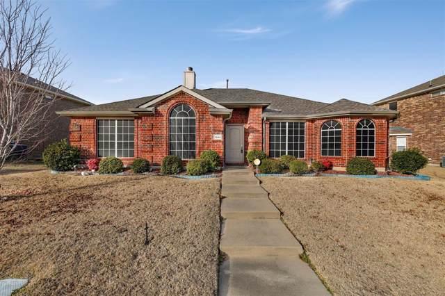 1244 Waters Edge Drive, Rockwall, TX 75087 (MLS #14255375) :: Maegan Brest   Keller Williams Realty