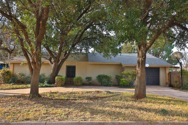 4125 N 9th Street, Abilene, TX 79603 (MLS #14255670) :: The Chad Smith Team