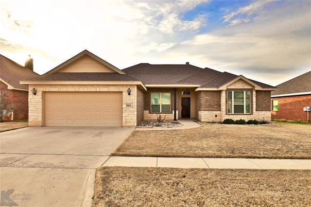 5018 Yellowstone Trail, Abilene, TX 79602 (MLS #14255720) :: Ann Carr Real Estate