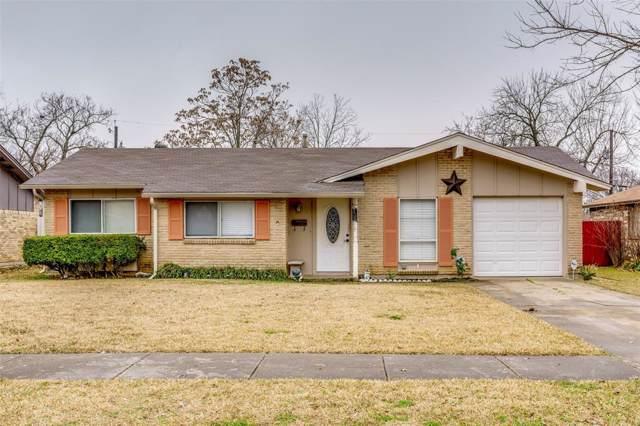 706 Sunset Drive, Garland, TX 75040 (MLS #14255885) :: Robbins Real Estate Group