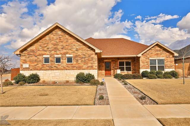 302 Buffalo Springs Drive, Abilene, TX 79602 (MLS #14256043) :: The Chad Smith Team