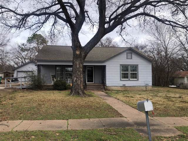 203 W Nelson Street, Bowie, TX 76230 (MLS #14256776) :: Real Estate By Design
