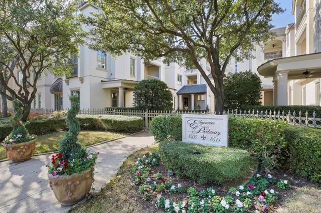 8511 Edgemere Road #203, Dallas, TX 75225 (MLS #14256914) :: The Hornburg Real Estate Group