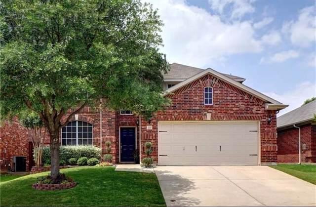 15525 Adlong Drive, Fort Worth, TX 76262 (MLS #14257086) :: Justin Bassett Realty
