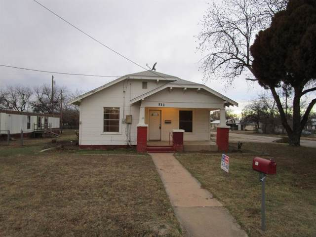 511 N Avenue E, Olney, TX 76374 (MLS #14257209) :: Trinity Premier Properties