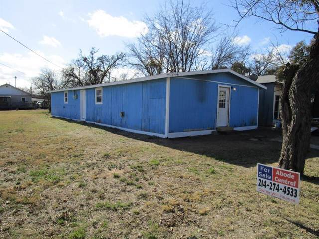 316 E Elm Street, Coleman, TX 76834 (MLS #14257214) :: RE/MAX Town & Country