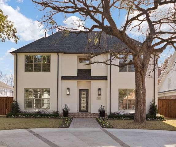 3917 Wentwood Drive, University Park, TX 75225 (MLS #14257267) :: Ann Carr Real Estate